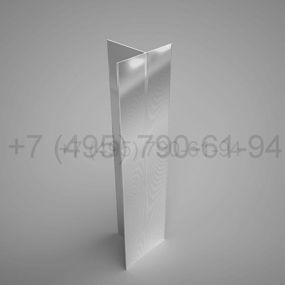 Направляющая Т-образн. 80х60*1,8  мм  мм длина 6,0 м  [ КПС 467 ]