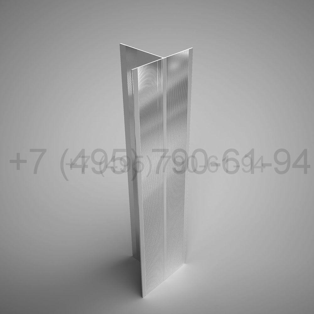 Направляющая Т-образн. 80х60*2,2  мм  мм длина 6,0 м  [ КП 45530 ]