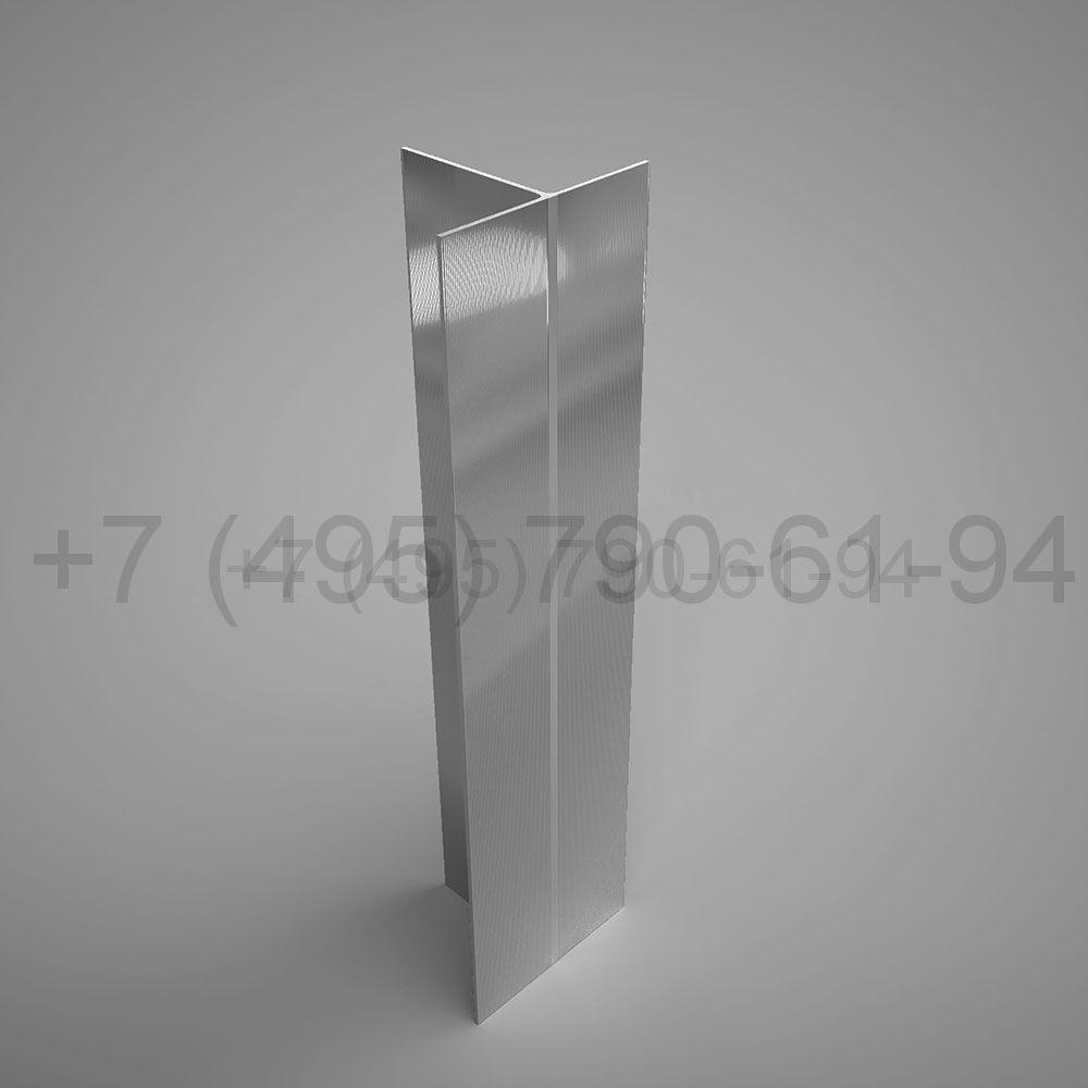 Направляющая Т-образн. 80х62*1,8  мм  мм длина 6,0 м  [ КП 1270 ]
