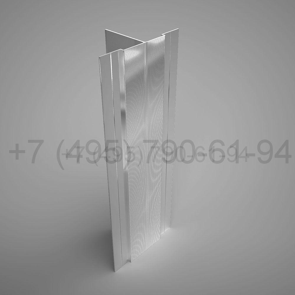 Направляющая Т-образн. усиленная 60х112*2,2  мм  мм длина 6,0 м  [ КПС 626 ]