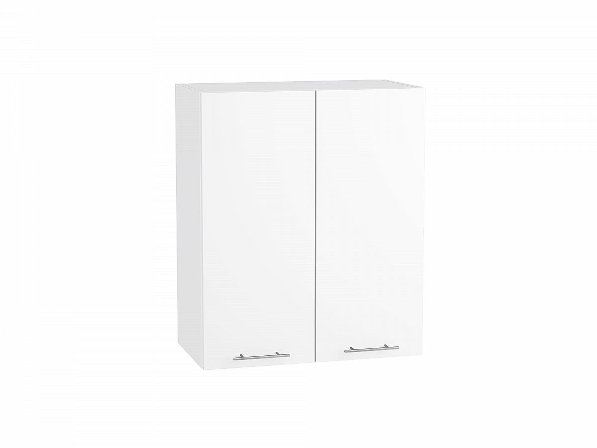 Шкаф верхний Валерия В609 белый глянец