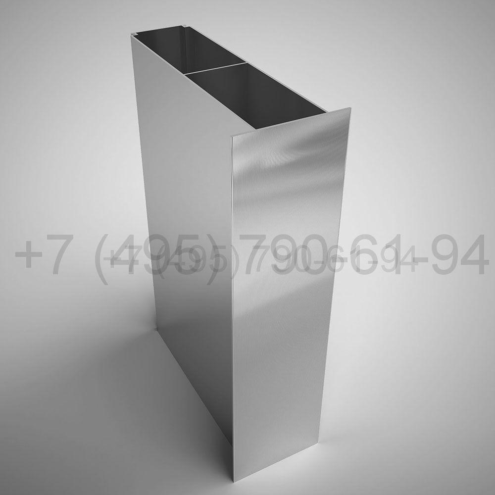 Направляющая межэтажн. фланец 80х195 мм длина 6,0 м  [ КПС 1248 ]
