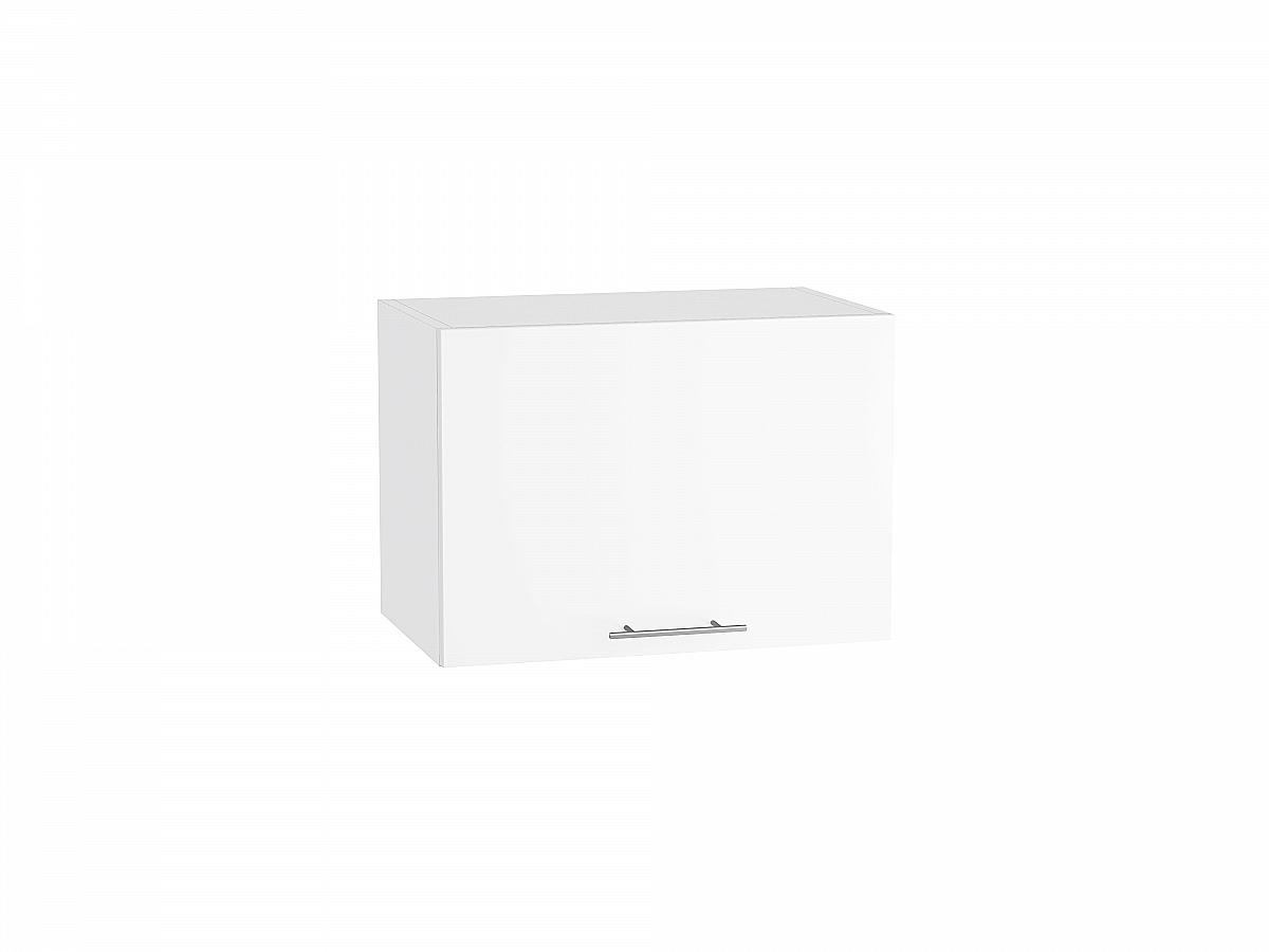 Шкаф верхний Валерия ВГ510 белый глянец