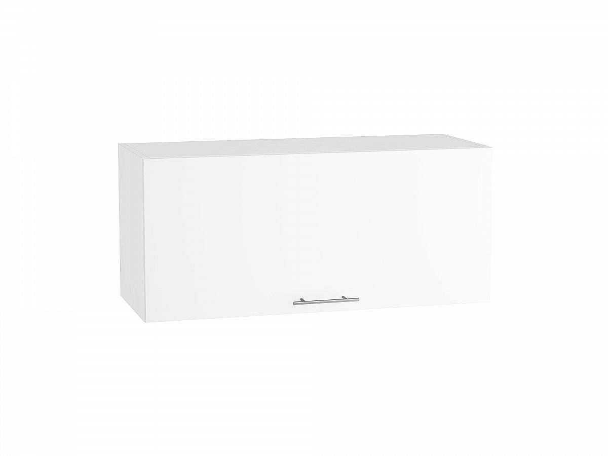 Шкаф верхний Валерия ВГ810 белый глянец
