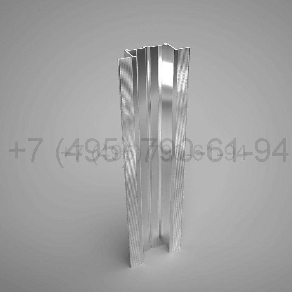 Направляющая П-образн. под кассеты 49х23,5*1,8  мм  мм длина 6,0 м  [ КП 45546 ]