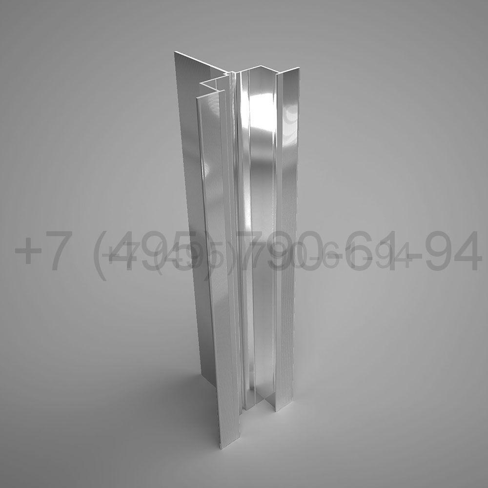 Направляющая Y-образн. под кассеты 80х80*1,8  мм  мм длина 6,0 м  [ КПС 152 ]