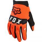 Fox Dirtpaw Youth Gloves Flo Orange перчатки для мотокросса подростковые