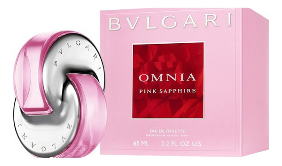 Туалетная вода Bvlgari Omnia Pink Sapphire, 65ml