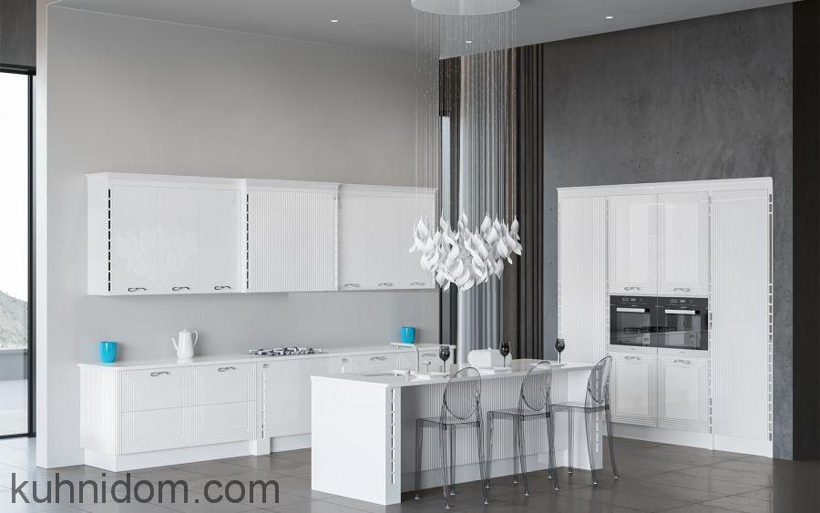Кухня VIVA со встроенными колонками