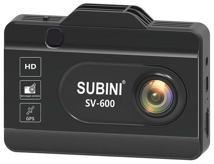 Видеорегистратор с радар-детектором Subini SV-600
