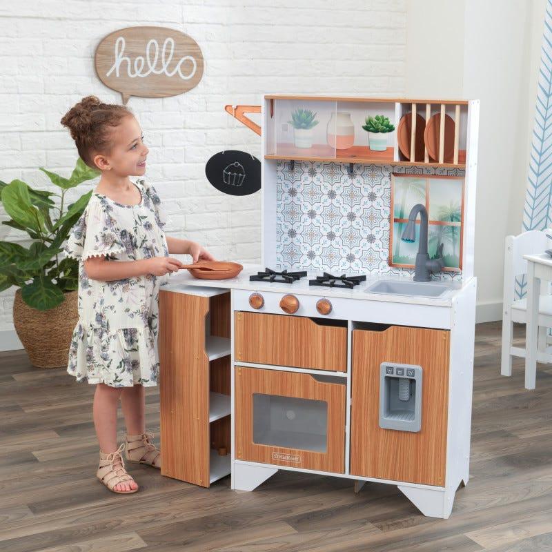 Деревянная детская кухня Taverna Light and Sound KidKraft 53440
