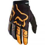 Fox 180 Skew Gloves Black/Gold перчатки для мотокросса