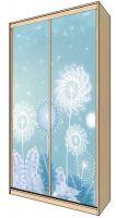 Наклейка на шкаф  — Ажурная красота одуванчика   магазин Интерьерные наклейки