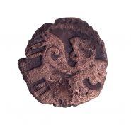 Джанибек хан, 743г.х. Бронзовый пул. Золотая орда