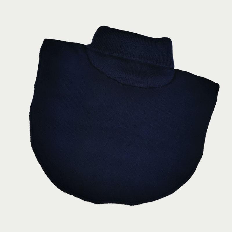 м1013-58 Манишка вязаная одинарная Basic Fleece темно-синяя