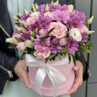 Розовая коробочка