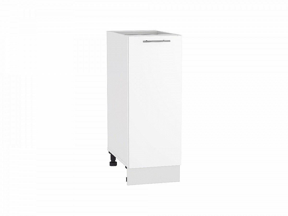 Шкаф нижний Валерия Н300 белый глянец