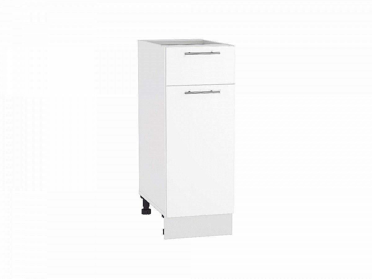 Шкаф нижний Валерия Н301 белый глянец