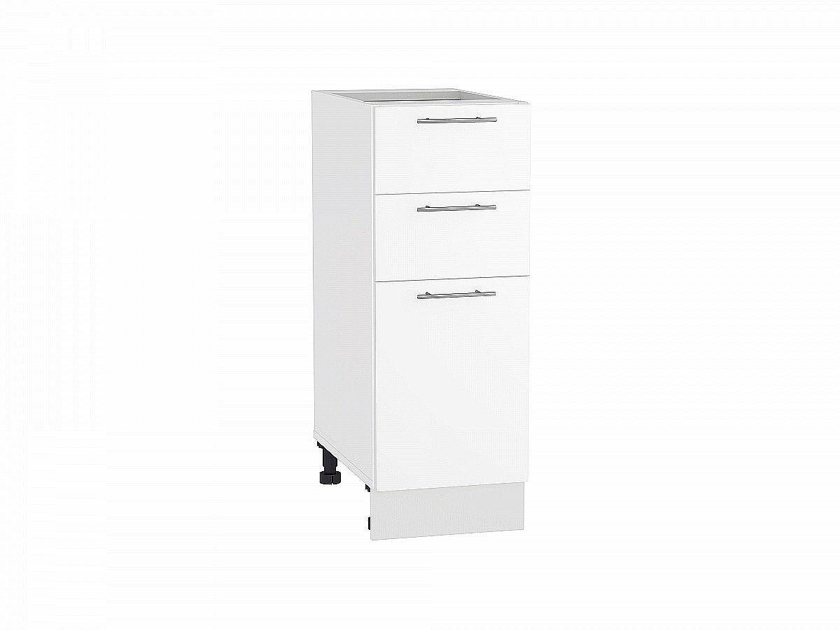 Шкаф нижний Валерия Н303 белый глянец
