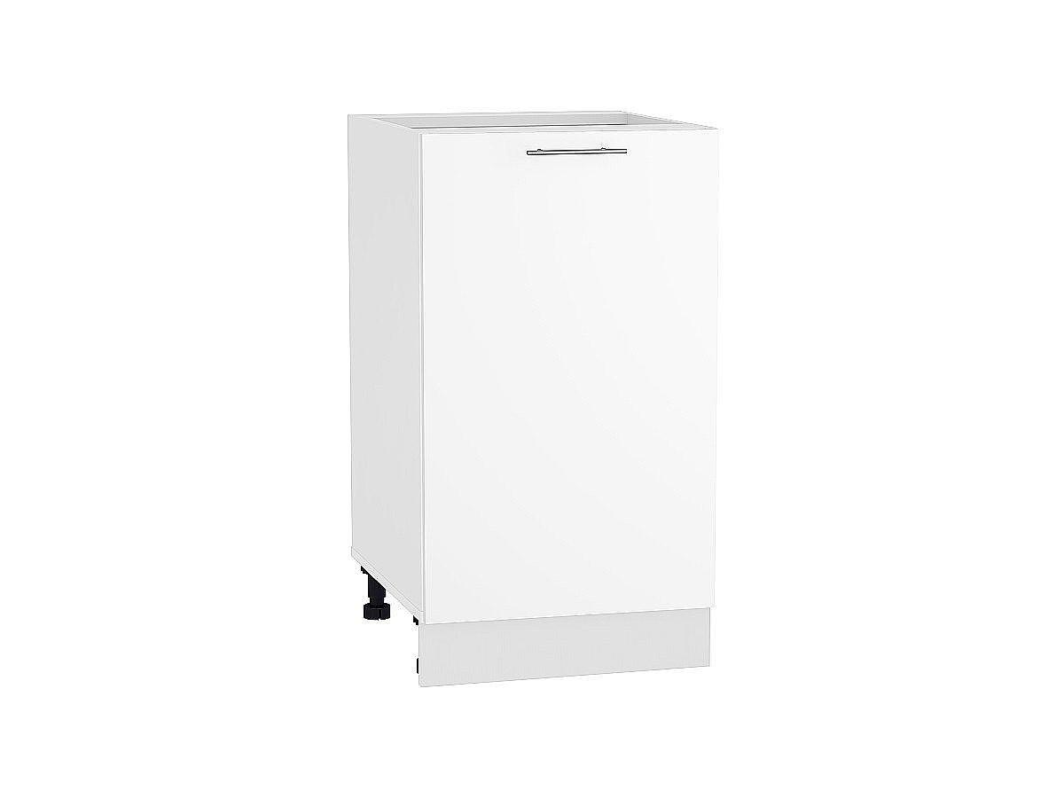 Шкаф нижний Валерия Н450 белый глянец