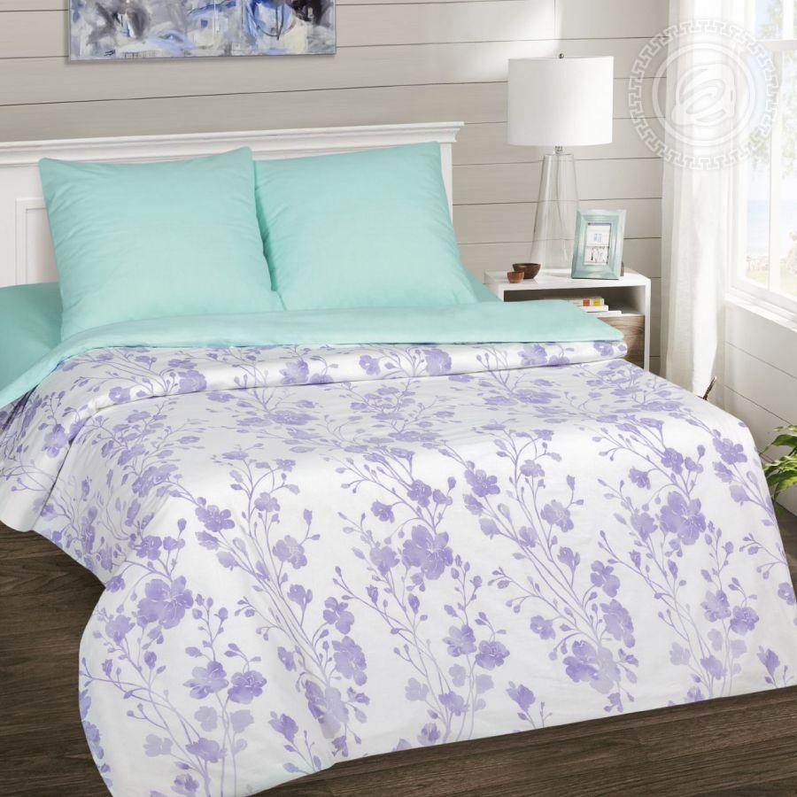 «Кармелита» (DE LUXE) постельное белье Поплин Евро