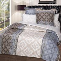 «Бурбон» постельное белье Сатин 2-х спальный с евро