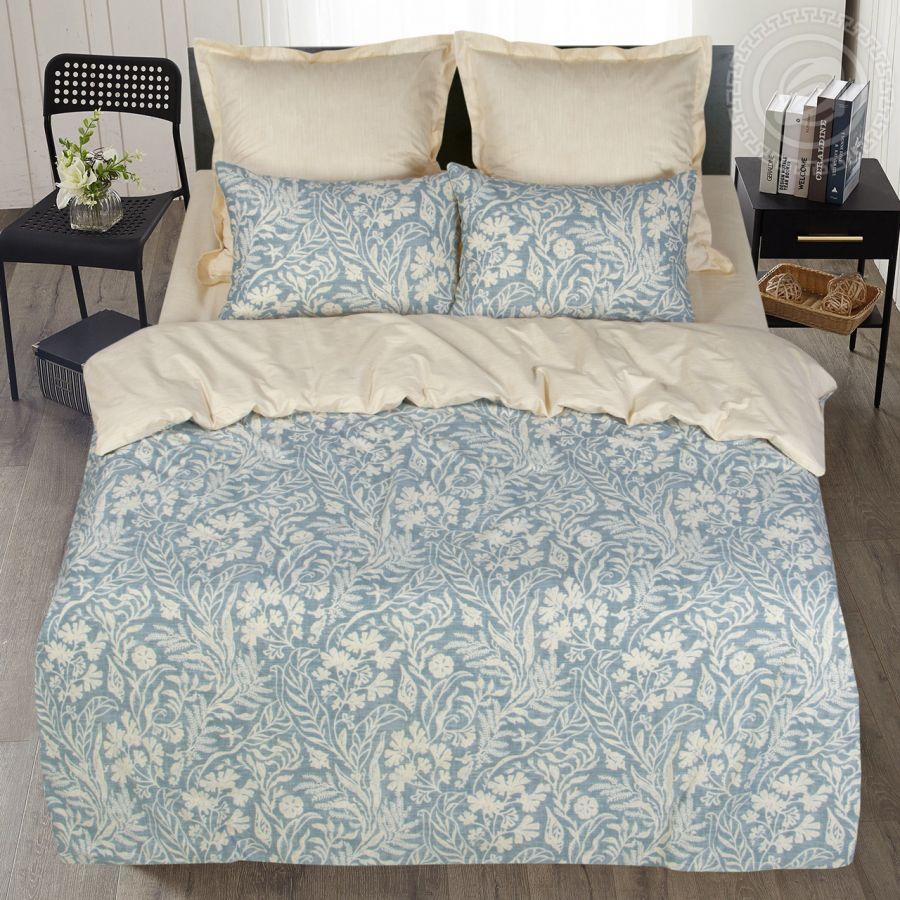 «Дарина» постельное белье Сатин 2-х спальный с евро