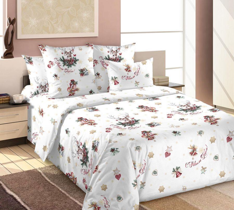 «Зимние праздники 1» постельное белье Бязь 2-х спальный