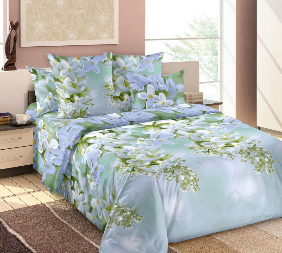 «Пышная сирень 2» постельное белье Бязь 2-х спальный