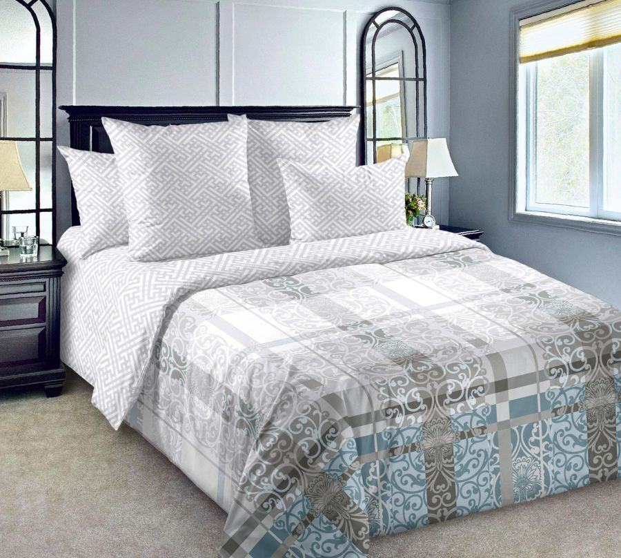 «Декор 4» постельное белье Сатин 1.5 спальный
