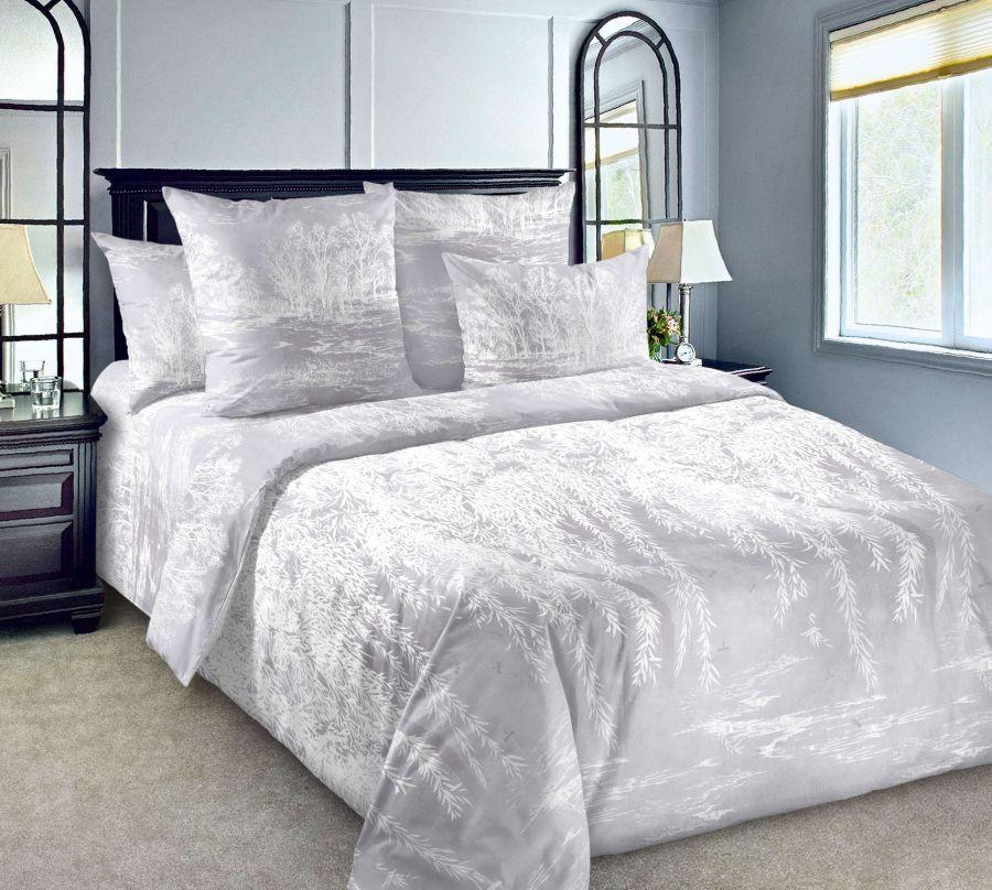 «Ивушка 4» постельное белье Сатин 2-х спальный с евро