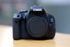 Зеркальный фотоаппарат Canon 600D body б/у
