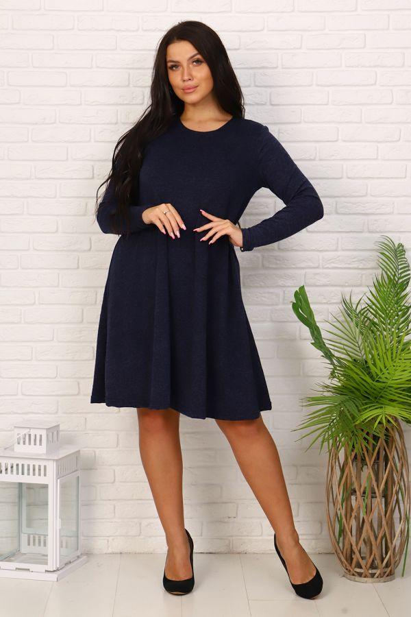 Платье 35060 [синий]