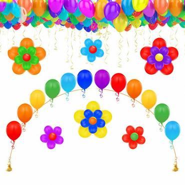 Комплект оформления воздушными шарами 1
