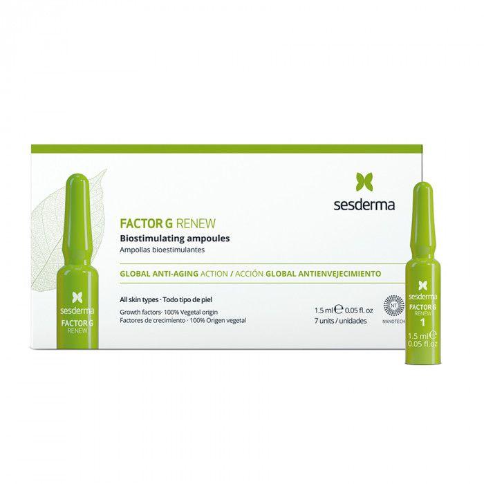 FACTOR G RENEW Biostimulating ampoules – Средство в ампулах биостимулирующее Sesderma (Сесдерма) 7 шт * 1,5 мл