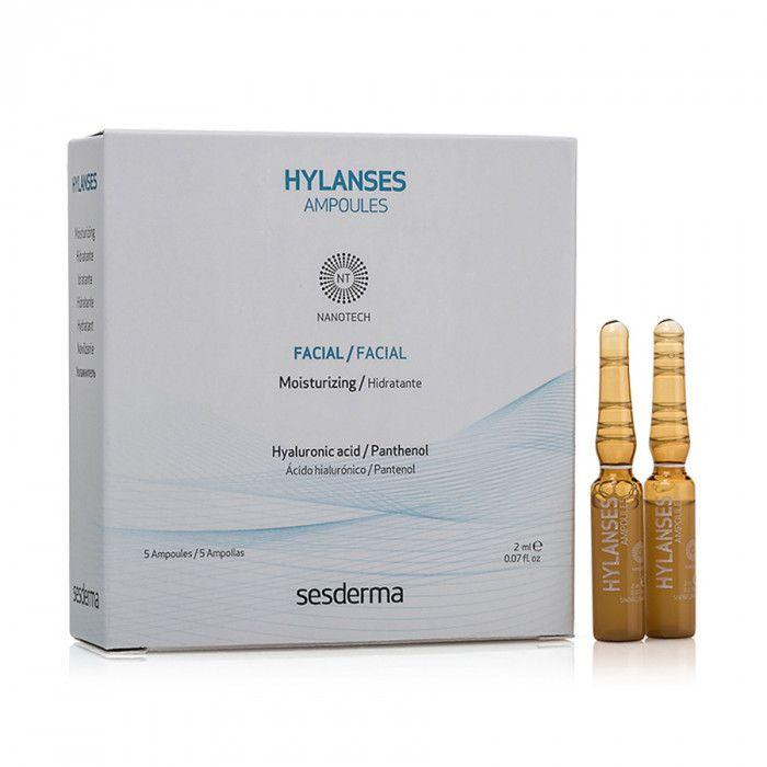HYLANSES Ampoules –  Средство в ампулах увлажняющее Sesderma (Сесдерма) 5 шт * 2 мл