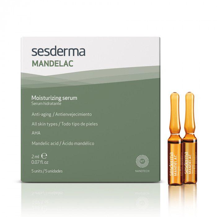 MANDELAC Moisturizing serum – Сыворотка увлажняющая Sesderma (Сесдерма) 5 шт * 2 мл