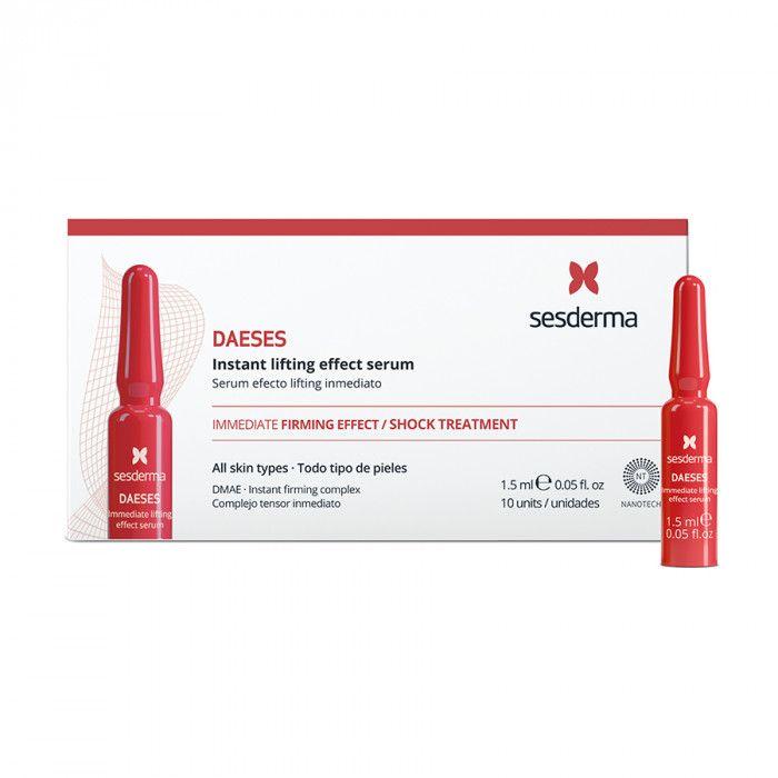 DAESES SERUM LIFTING EFFECT - Сыворотка с мгновенным эффектом лифтинга Sesderma (Сесдерма) 10 шт * 1,5 мл