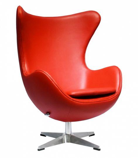 Кресло EGG CHAIR красный
