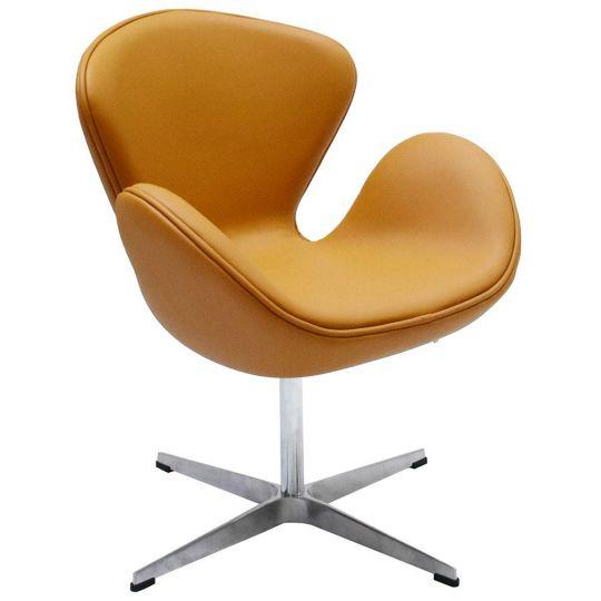 Кресло SWAN CHAIR оранжевый