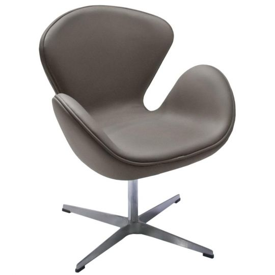 Кресло SWAN CHAIR тёмный латте