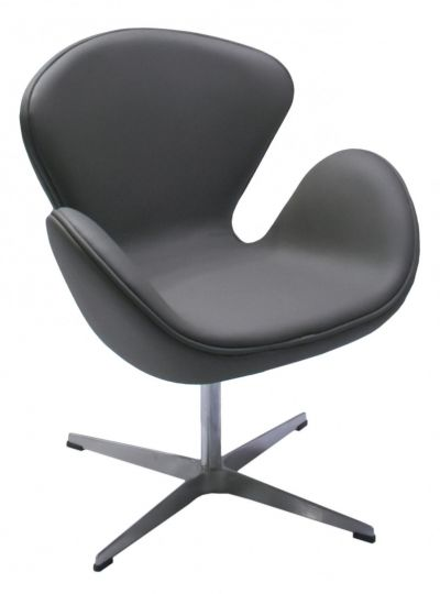 Кресло SWAN CHAIR серый