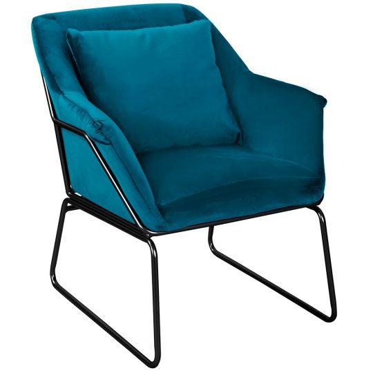 Кресло ALEX тёмно-бирюзовый