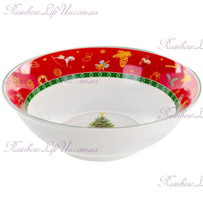 "Салатник новогодний 16 см ""Christmas tree"""