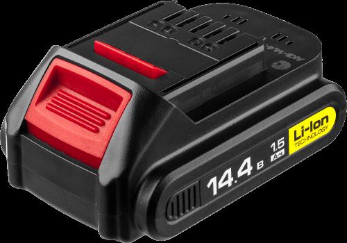 Аккумуляторная батарея ЗУБР АКБ-14.4-Ли 15М2