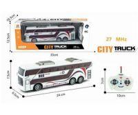 Автобус р/у на пульте управ., свет. эффекты, М1:32, в/к 33*12,5*10,3 см