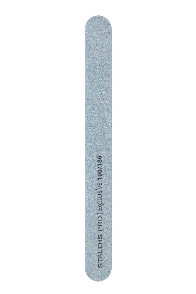 Минеральная пилка для ногтей (прямая), Staleks Pro Exclusive, 100/180 грит (Арт. NFX-22/1)