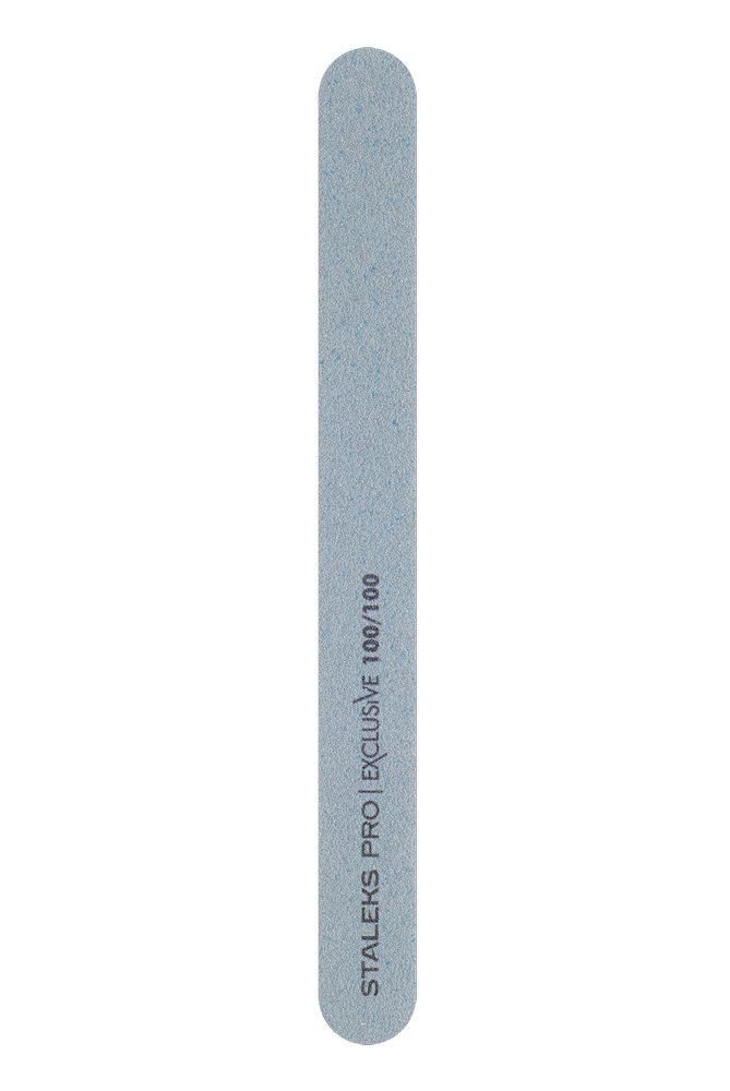 Минеральная пилка для ногтей (прямая), Staleks Pro Exclusive, 100/100 грит (Арт. NFX-22/4)