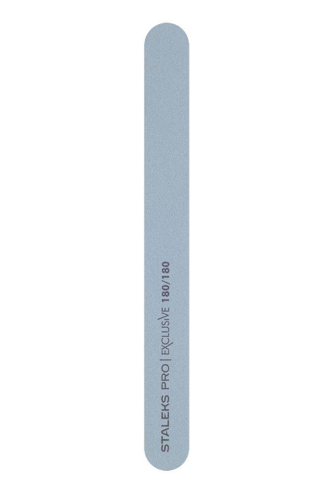 Минеральная пилка для ногтей (прямая), Staleks Pro Exclusive, 180/180 грит (Арт. NFX-22/6)
