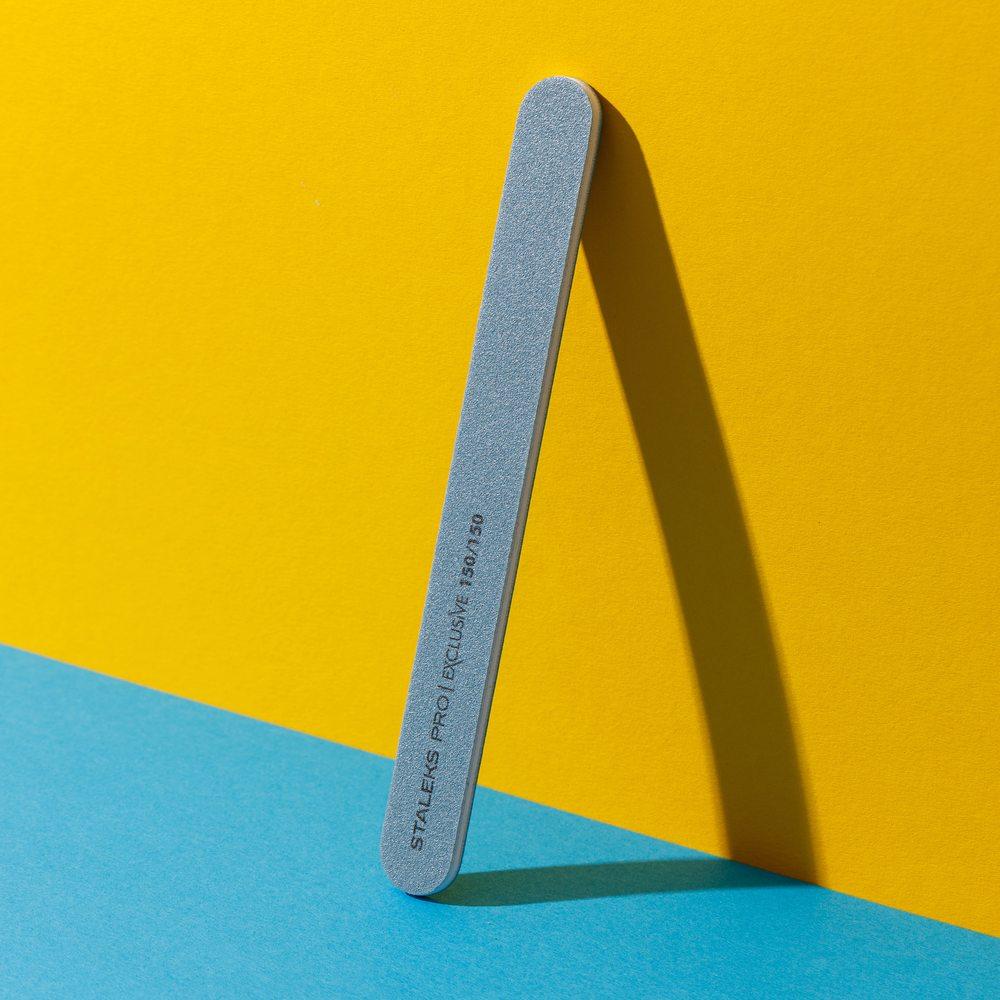 Минеральная пилка для ногтей (прямая), Staleks Pro Exclusive, 150/150 грит (Арт. NFX-22/9)